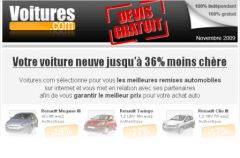 Spam Voitures.com