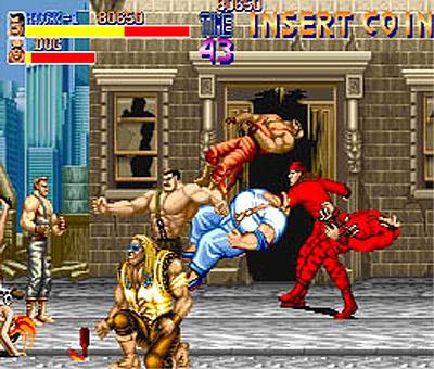Final Fight vs Street of Rage FinalFight