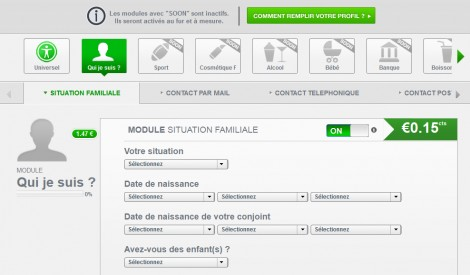 Questionnaires de qualification de Yes Profile