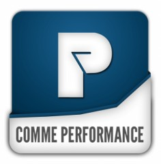 Logotype de P comme Performance - copyright Prisma Media